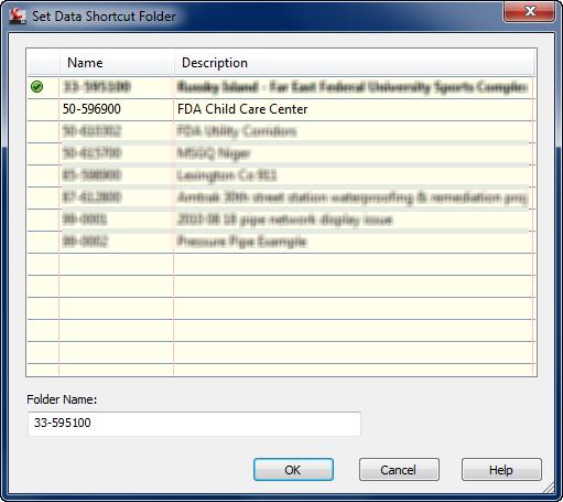 Data Shortcut Projects – prescription for descriptions (3/5)